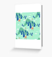 Back to Nature - Pattern Carte de vœux