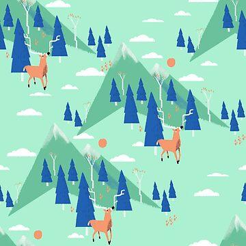 «Back to Nature - Pattern» par BabyKarot