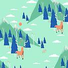 « Back to Nature - Pattern » par BabyKarot