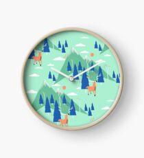 Back to Nature - Pattern Horloge