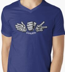 Paper Rock Scissors Mens V-Neck T-Shirt