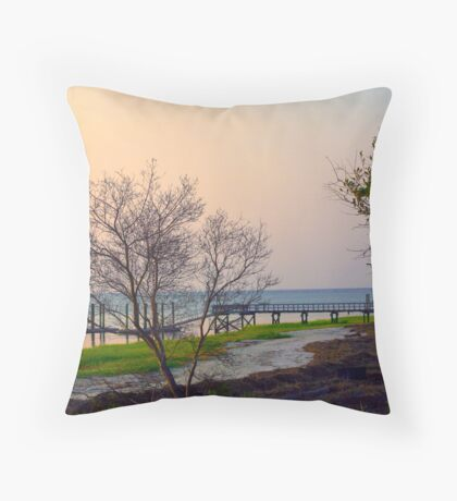 Morning on the Ocean Throw Pillow