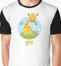 Giro the Giraffe Graphic T-Shirt