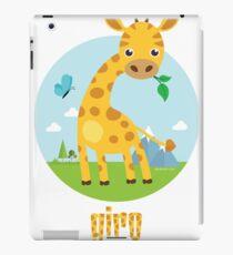 Giro the Giraffe iPad Case/Skin