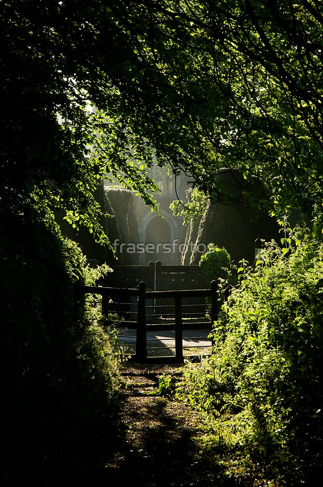 The church path by frasersfotos