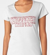 Stranger Things Women's Premium T-Shirt