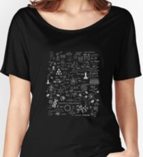 Science Physic Math Chemistry Biology Astronomy T Shirt Women's Relaxed Fit T-Shirt