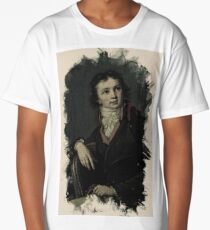 Young Faces from the past Series by Adam Asar, No 12 Long T-Shirt