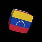 Venezuela Flag cubed. by stuwdamdorp