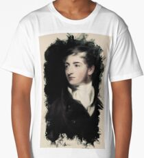 Young Faces from the past Series by Adam Asar, No 16 Long T-Shirt