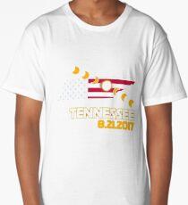 Total Solar Eclipse Across Tennessee USA T-shirt Long T-Shirt