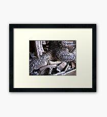 Dragon biker Framed Print