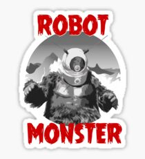 B-Movie Monsters : Robot Monster Sticker