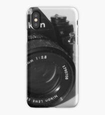 Nikon EM plus Lens iPhone Case/Skin