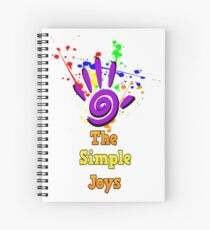 The Simple Joys Spiral Notebook