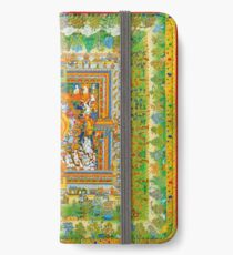 Medicine Buddha's paradise Psychedelic iPhone Wallet/Case/Skin