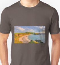 Porthor Bay at Sun down T-Shirt