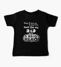 Want To Be Real Hero, Like My Veteran Dad  Kids Clothes