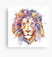 Lion Head Metal Print
