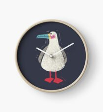 A seagull called Norman Clock