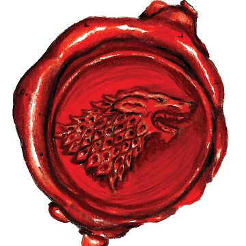 Wax Seal Red Lion by nicpfeiff