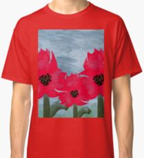Beautifully Painted Flowers   Classic T-Shirt