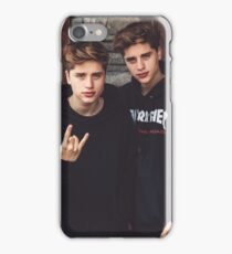 Martinez twins iPhone Case/Skin