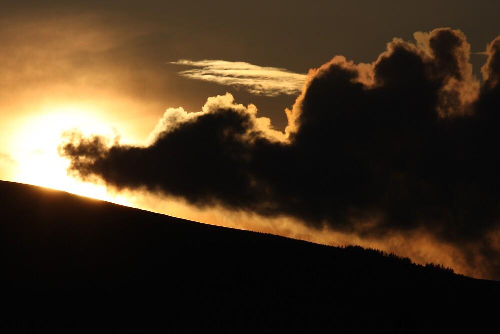 Trail Blazing Sunset by Steiner62