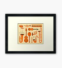 Just Jazz Framed Print
