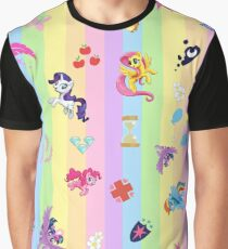 my little pony collage Graphic T-Shirt