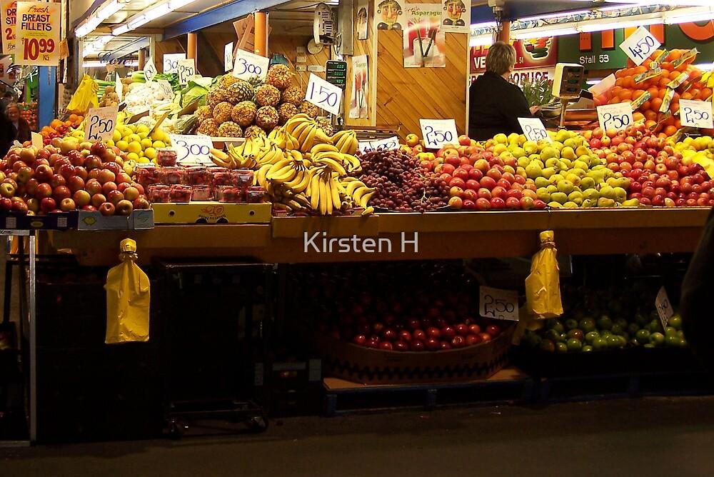 Healthy Fruit by Kirsten H
