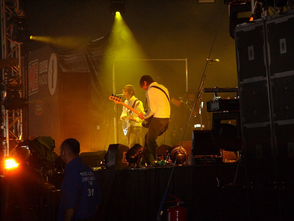 The Enemy, Reading, 2007, NME/Radio 1 stage by Rockopotumus