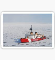 USCGC Polar Sea conducts a research expedition in the Beaufort Sea. Sticker