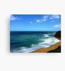 Southern Ocean from Bell's Beach, Vic. Australia Canvas Print