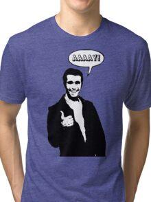 Happy Days Fonzie T-Shirt Tri-blend T-Shirt