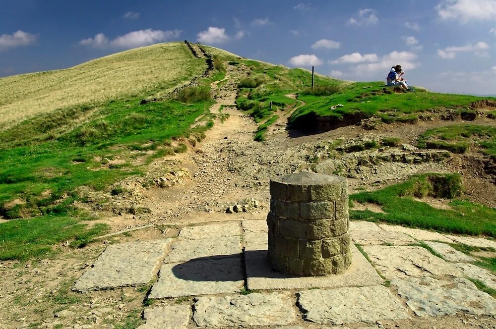 Hollins Cross on the Great Ridge by Rod Johnson