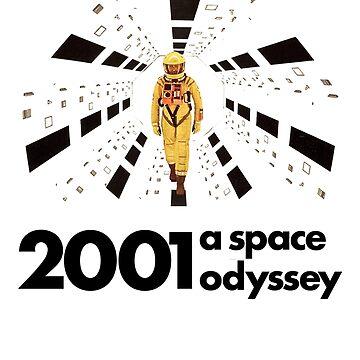 2001 a space odyssey by giuliomaffei90