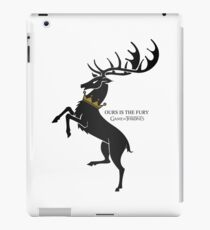Deer crown iPad Case/Skin