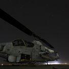 Ein US Marine Corps AH-1W Cobra Angriffshubschrauber. von StocktrekImages