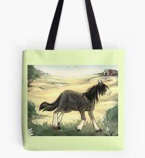 Shire Horse Tote Bag