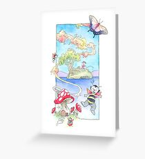 Faerie Bug Happy Day Greeting Card