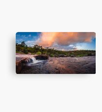 Morning light in the Perth Hills Canvas Print