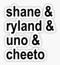 Shane Dawson Family Sticker