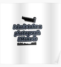 photographers collection Poster