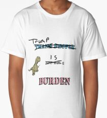 Trans People are Not a Burden Long T-Shirt