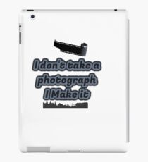photographers collection iPad Case/Skin