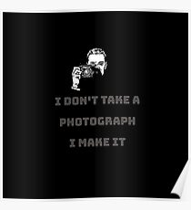 photographers collection black Poster