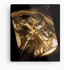 Iconography of the Engine Metal Print