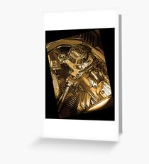 Iconography of the Engine Greeting Card