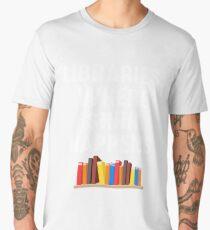 LIBRARIES WHERE SHHH HAPPENS Men's Premium T-Shirt